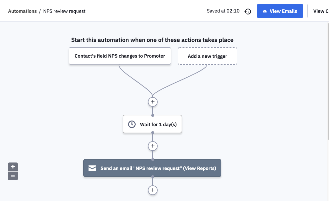 how to take action after receiving customer feedback  to truly capitalize on customer feedback,. For example, when you get a high CSAT or NPS score, it's worth asking the user for a positive review, testimonial or case study.