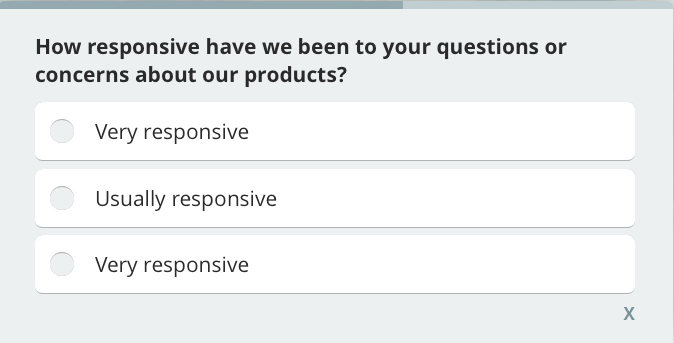 how to improve interaction with customers, customer satisfaction survey question