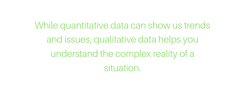 Qualitativ research methods – the difference between quantiative and qualitative research