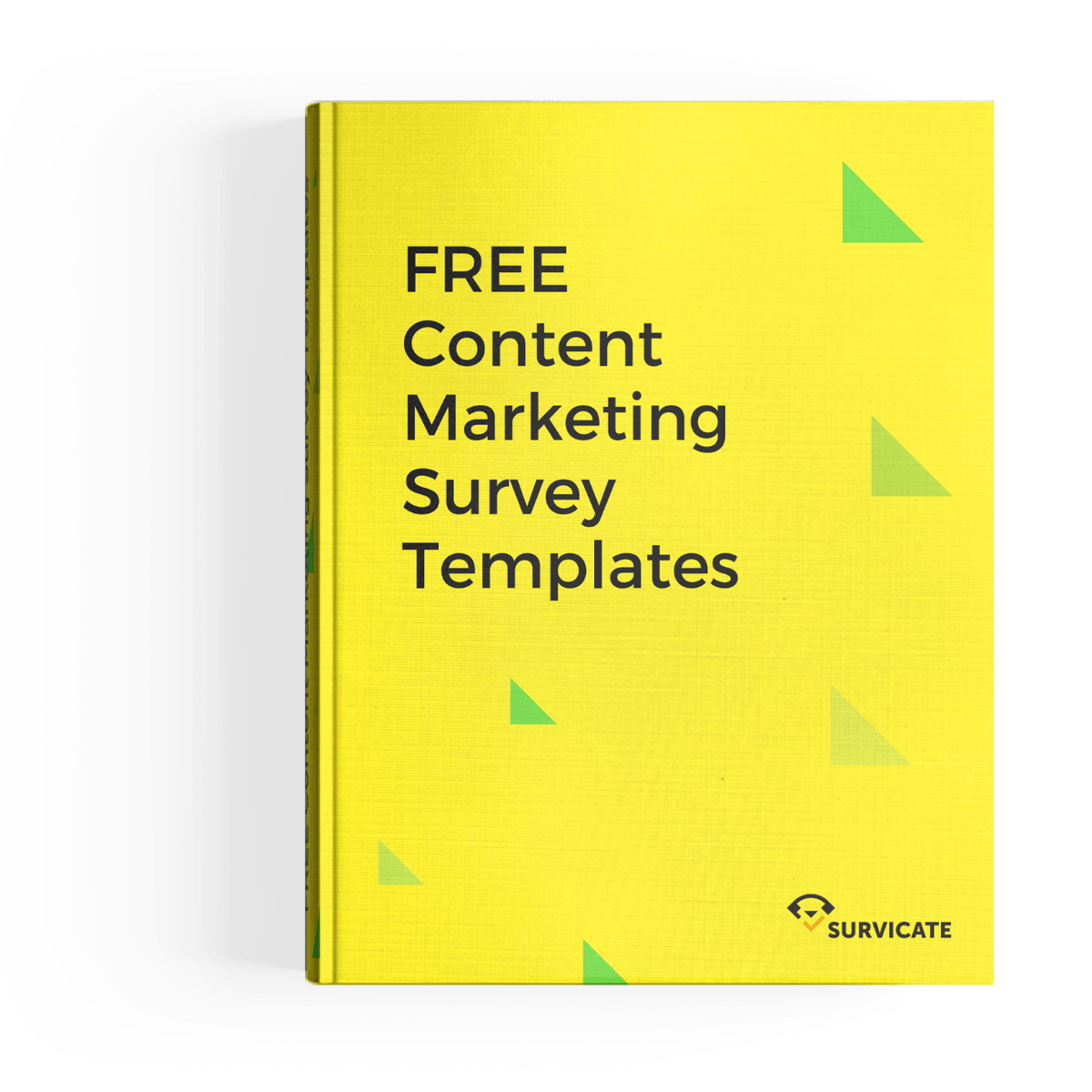 content marketing survey templates