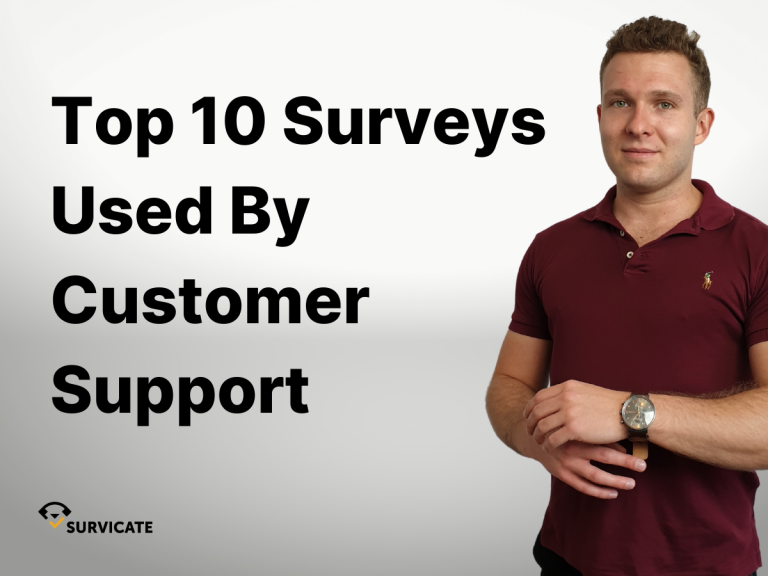 top surveys used by customer support