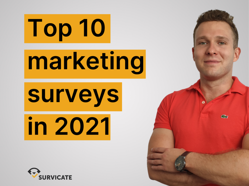 top10 marketing surveys and marketing survey questions